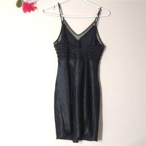 New! La Vie en Rose black satin nightie